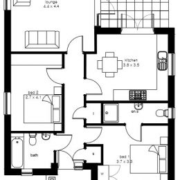 plot 2 (bung) floor plan image