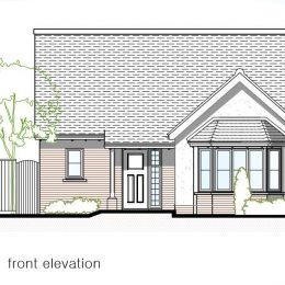 plot 2 (bung) front elevation image