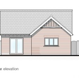 plot 2 (bung) rear elevation image