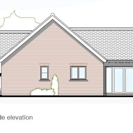 plot 2 (bung) side elevation image