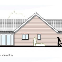 plot 3 (bung) side elevation image
