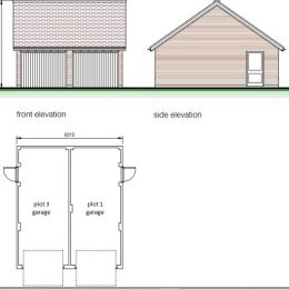 plot 3&1 garage image