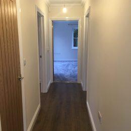 boundary bungalows hallway
