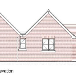 north east elevation RWP9